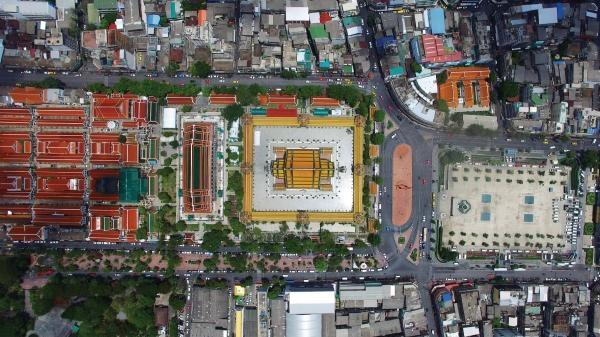 Thajsko z výšky