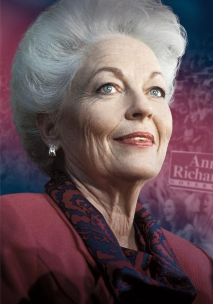 Příběh Ann Richardsové, první dámy Texasu