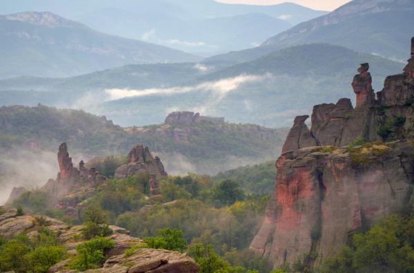 Mytické hory Bulharska