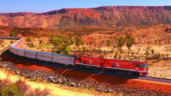 Australská železnice