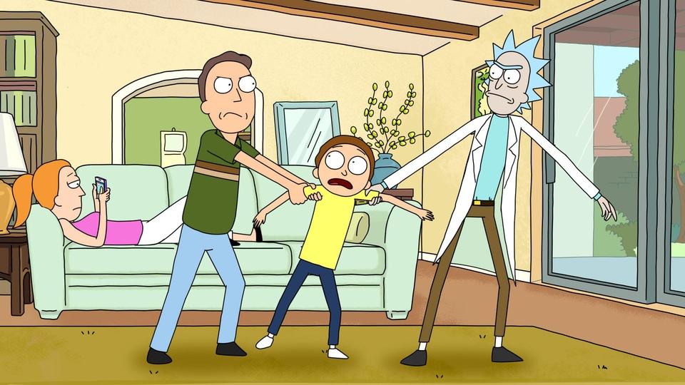 Seriál Rick a Morty