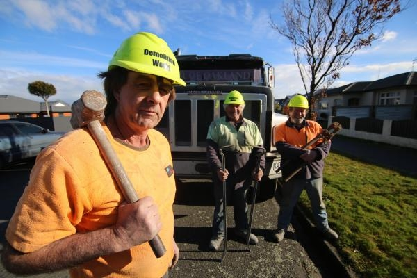 Demoliční práce na Novém Zélandu  I (8)