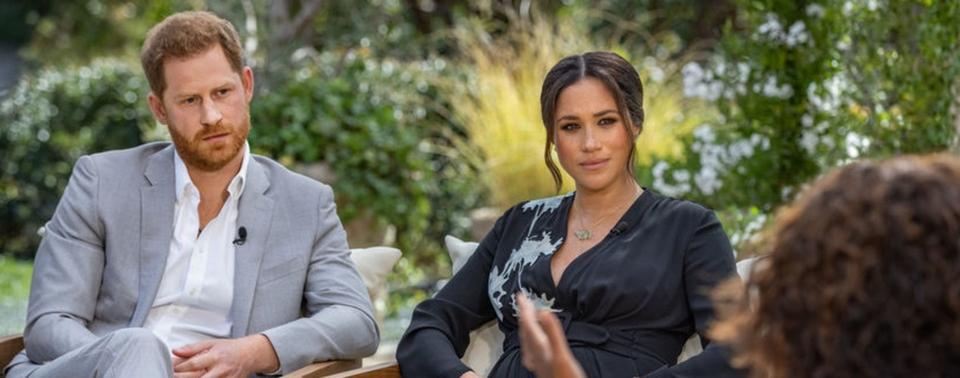 Meghan a Harry v rozhovoru s Oprah Winfreyovou