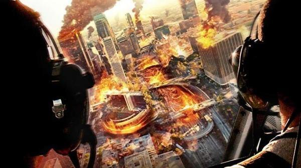 Los Angeles v plameňoch