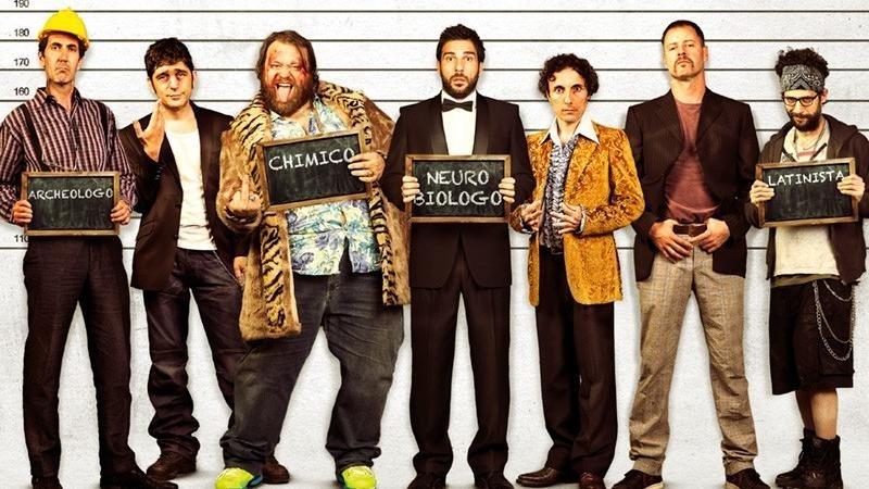 Film Profesoři zločinu