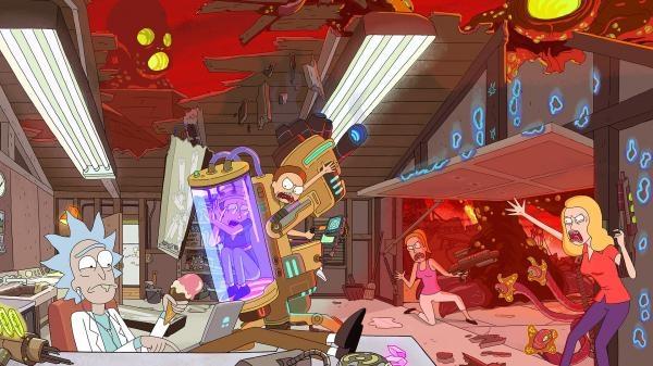 Rick a Morty