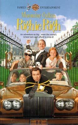 Film Sám doma a bohatý