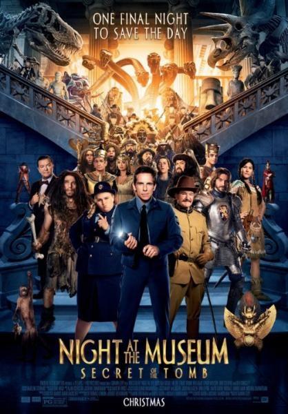Noc v muzeu: Tajemství hrobky