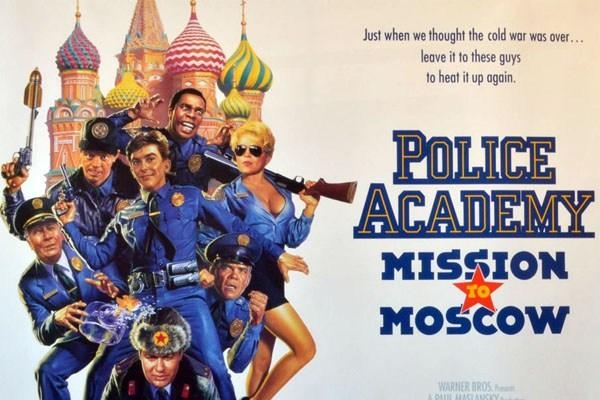 Film Policajná akadémia - Moskovská misia