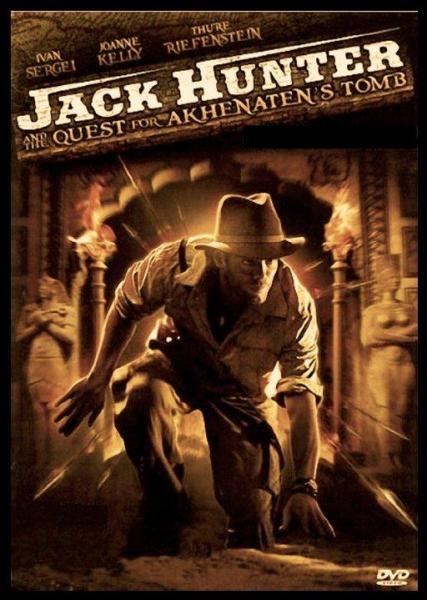 Seriál Jack Hunter: Prokletí hrobky Achnatona