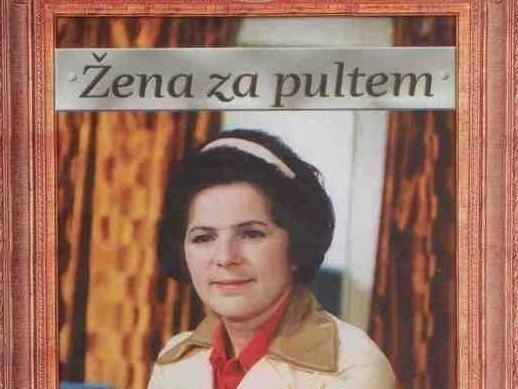 Žena za pultem