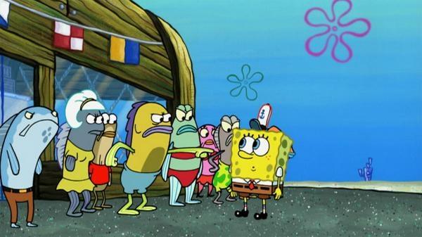 SpongeBob v kalhotách  VIII (18)