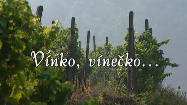 Vínko, vínečko...