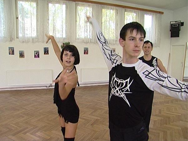 Tanečníci Martina a Tomáš Markovi
