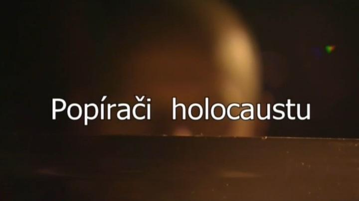 Dokument Popírači holocaustu