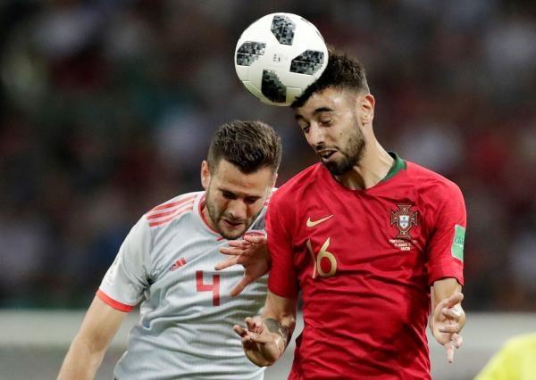 Fotbal: Španělsko - Portugalsko