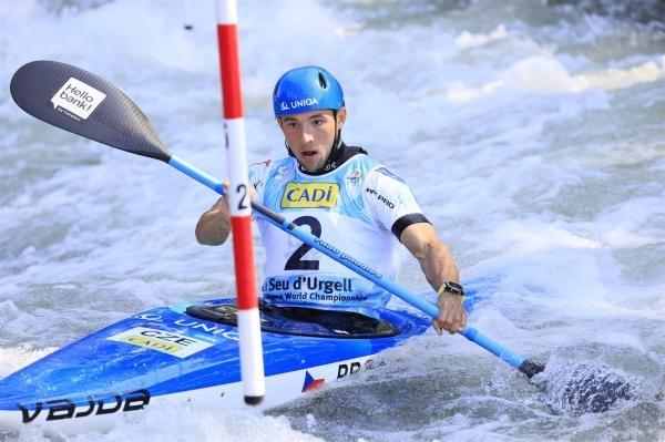 Vodní slalom: SP 2021 Česko