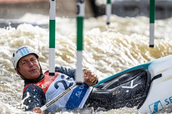 Vodní slalom: ME 2020 Česko
