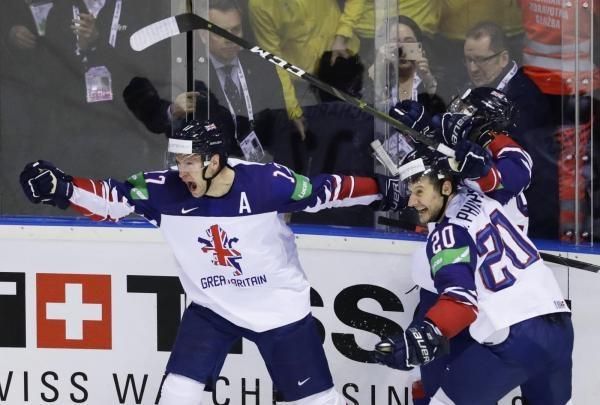 Hokej: Česko - Velká Británie