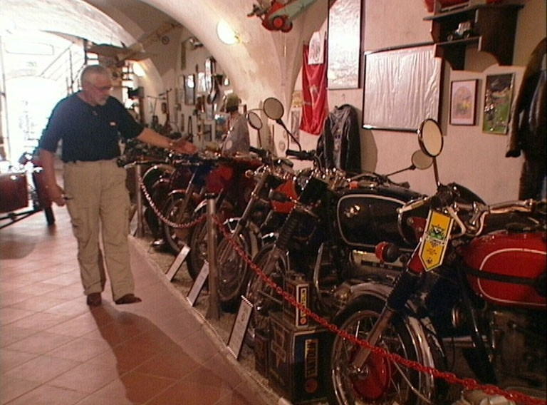 Dokument Soukromá muzea: Muzeum motocyklů