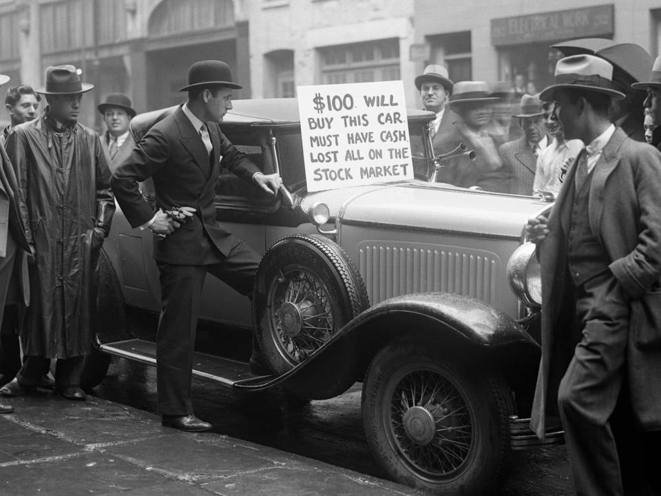 Dokument Černý pátek 1929