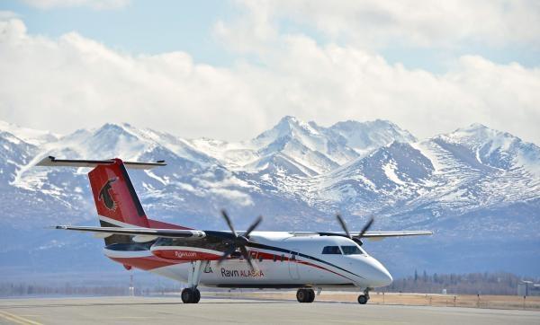 Nebezpečné létání na Aljašce!