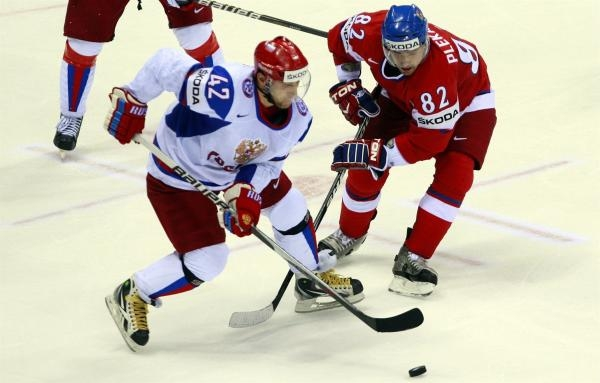 Hokej: Česko - Rusko