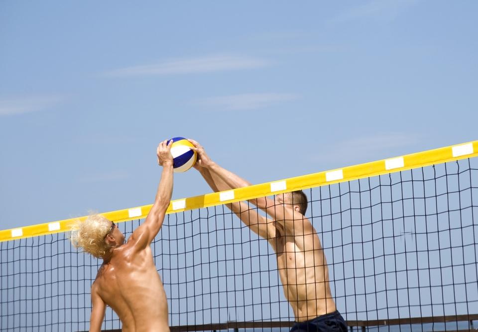 Plážový volejbal: Lotyšsko - Brazílie