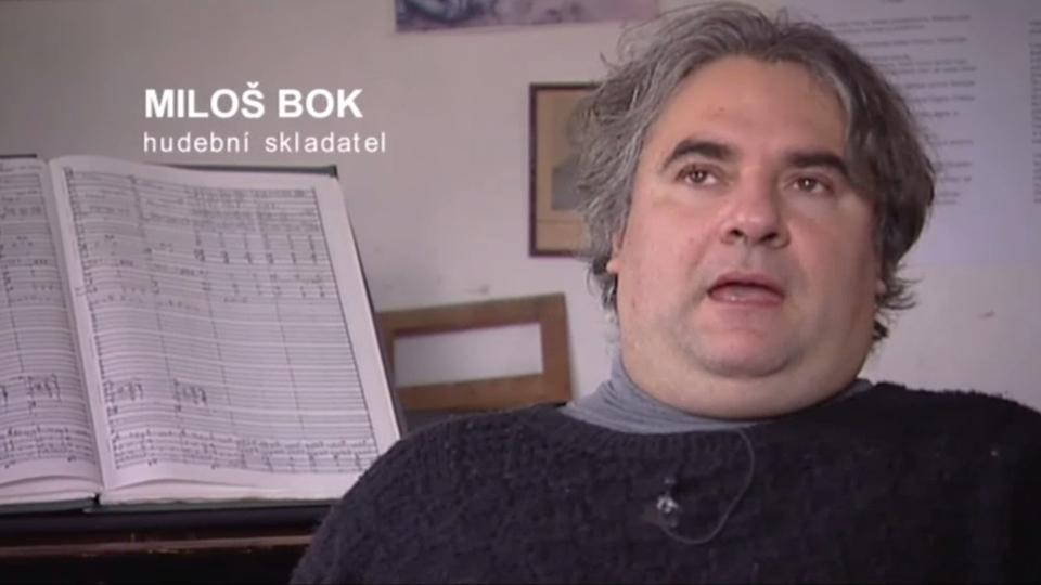 Dokument Portrét Miloše Boka