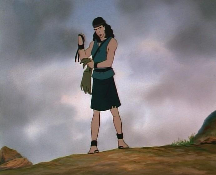 Animované biblické příběhy: David a Goliáš