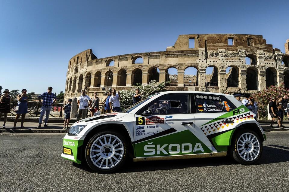 Motorismus: Rally Řím