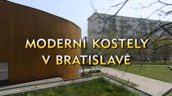 Moderní kostely v Bratislavě