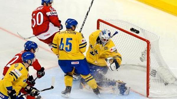 Hokej: Česko - Švédsko
