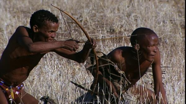 Poslední lovci v Namibii
