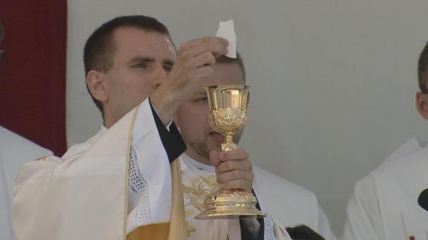 Primiční mše svatá P. Michala Staufčíka