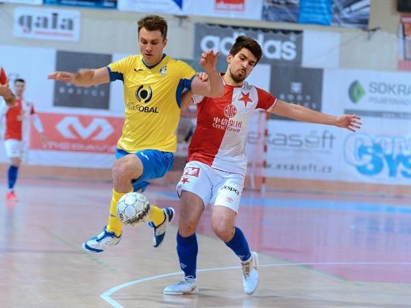 Futsal: SK Slavia Praha - SK Interobal Plzeň