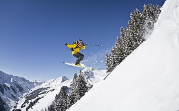 Výzva - Freeriderový lyžiar