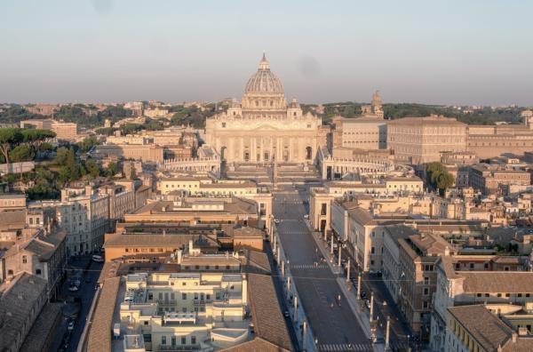 Dokument Vatikán, sídlo papežů