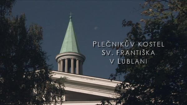 Plečnikův kostel sv. Františka v Lublani