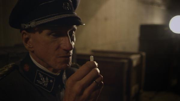 Dokument Hans Kammler, šéf projektu Hitlerových tajných zbraní
