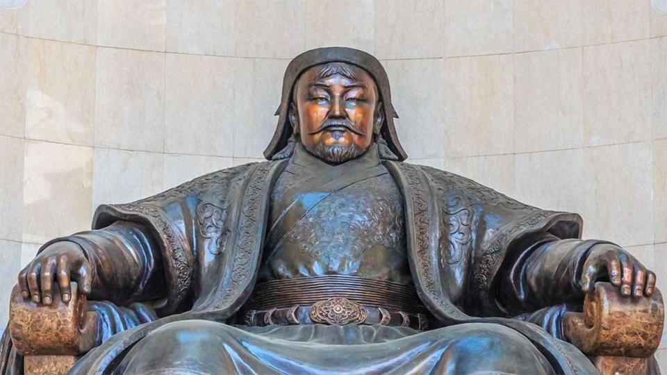 Dokument Krajem Čingischána po řece Orchon