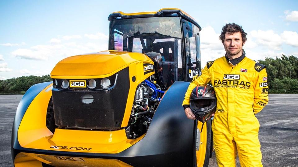 Dokument Guy Martin: Nejrychlejší traktor světa