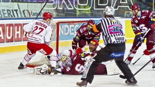 Hokej: HC Oceláři Třinec - HC Sparta Praha
