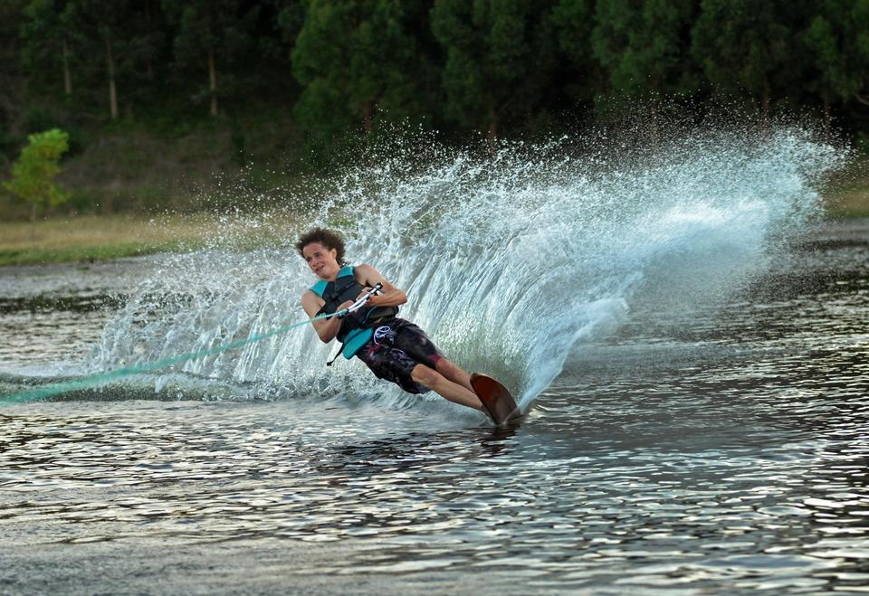 Výzva - Vodné lyžovanie