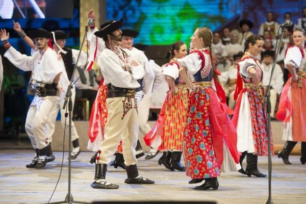 Folklórny festival - Východná - zostrihy