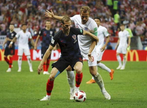Fotbal: Anglie - Chorvatsko