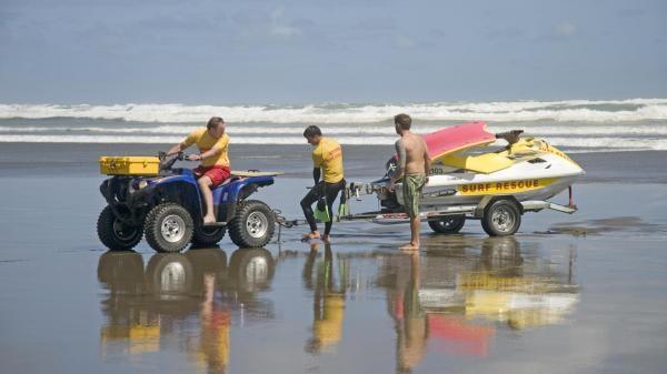 Niebezpieczne plaże Nowej Zelandii
