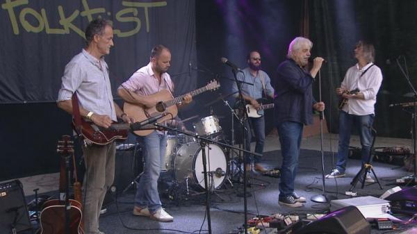 Robert Křesťan & Druhá tráva na Mohelnickém Folk-Festu 2020