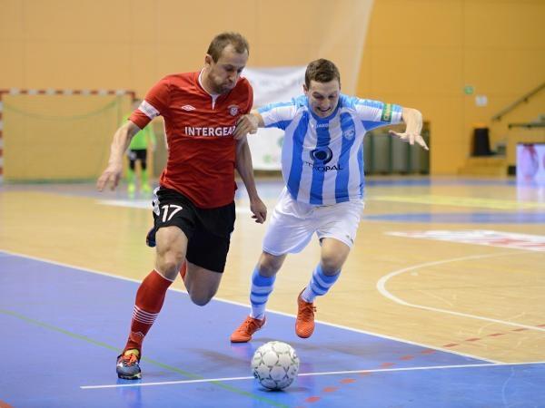 Futsal: SK Interobal Plzeň - SK Slavia Praha