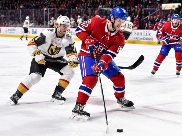 Vegas Golden Knights - Montreal Canadiens